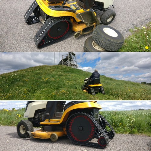 Hensutracks, tracks, lawn tractor, zero-turn, zero-turn mowers, tractor supply, tractor attachments, john deere lawn tractor